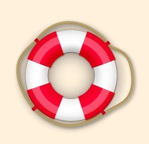 braccioli mare salvagente