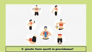 sport in gravidanza