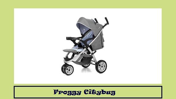 passeggino froggy citybug