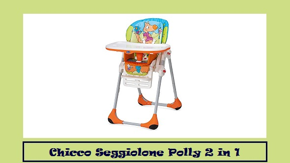Chicco Seggiolone Polly 2 in 1.