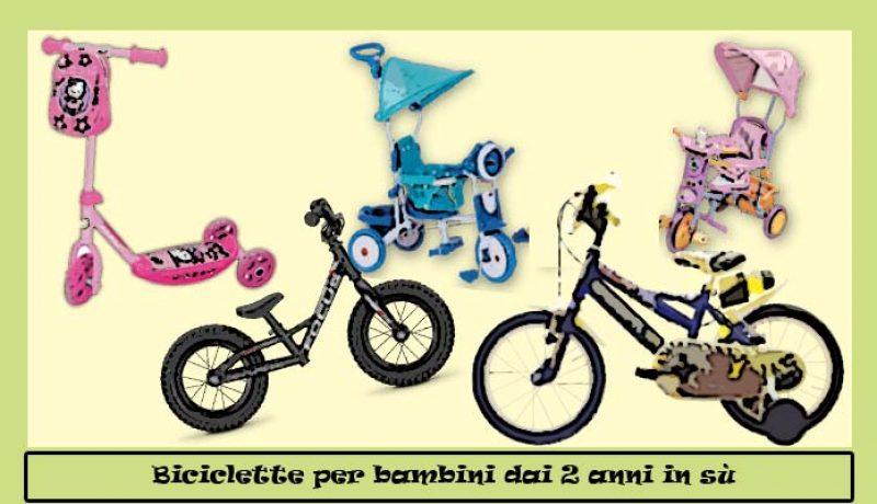 Biciclette per bambini di 2 anni, quali scegliere?