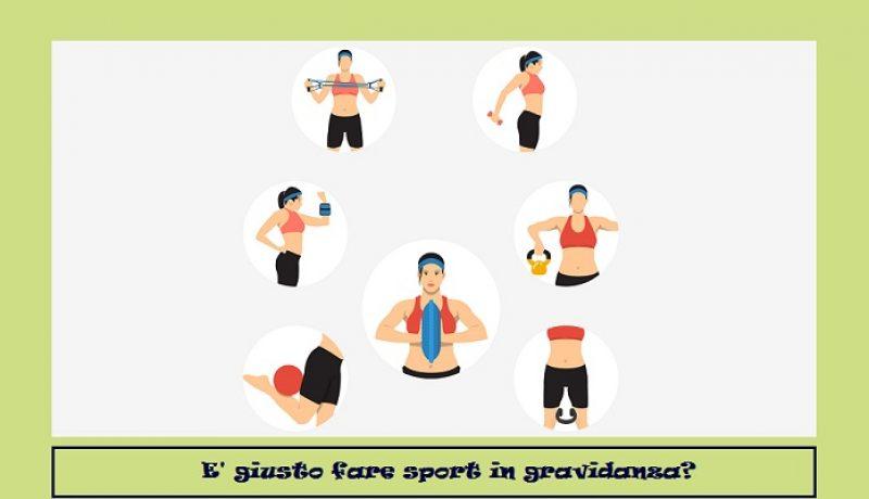 E' giusto fare sport in gravidanza? Come restare in forma.