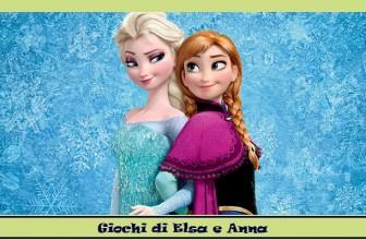 Giochi di Elsa e Anna. FrozenMania.